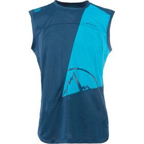 La Sportiva Strive Sleeveless Shirt Men blue/turquoise